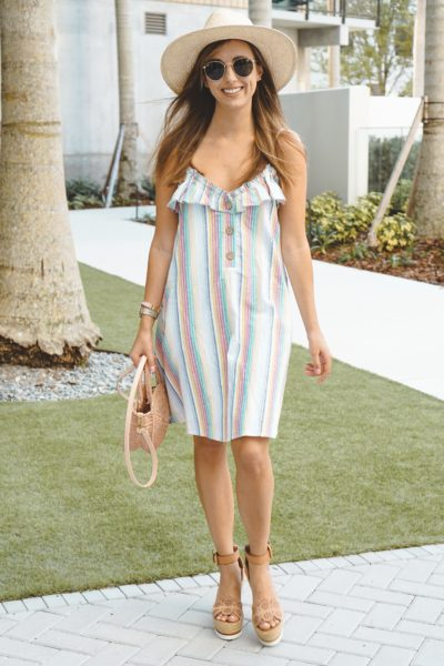 shop entourage rainbow dress