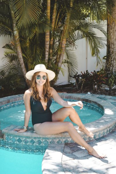 lulus black one piece suit