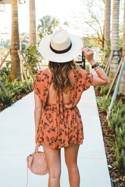 entourage clothing trellis romper open back