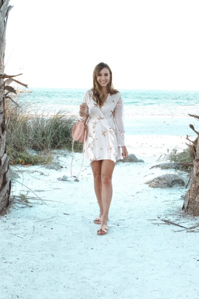 chicwish neptune dress at anna maria island