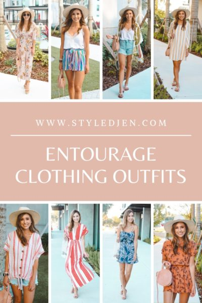 Entourage Clothing Spring Looks