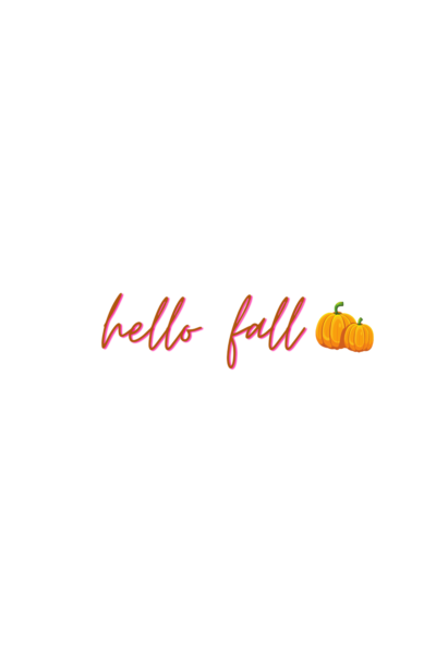 free Instagram Story Stickers hello fall sticker 2020