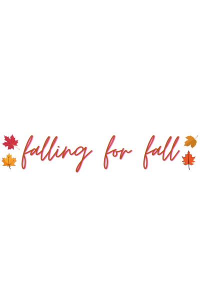 falling for fall sticker 2020
