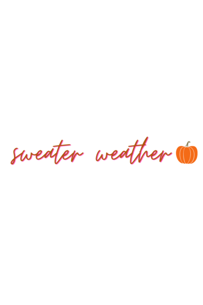 free Instagram Story Stickers sweater weather fall sticker 2020