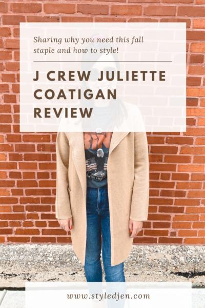 J Crew Juliette Coatigan