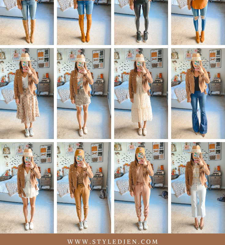 Blanknyc Suede Moto Jacket Outfits
