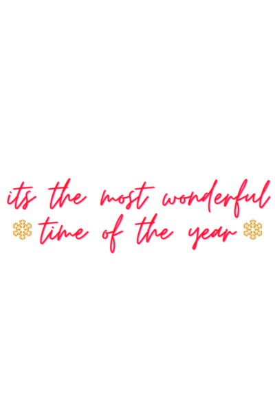 its the most wonderful time of the year sticker 2020