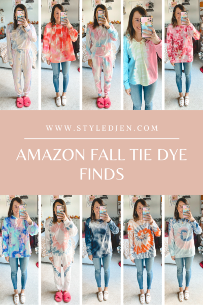 Amazon Fall Tie Dye Finds