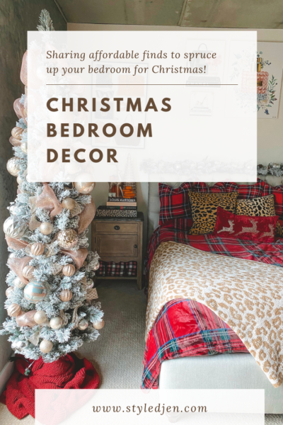 Christmas Bedroom Decor finds