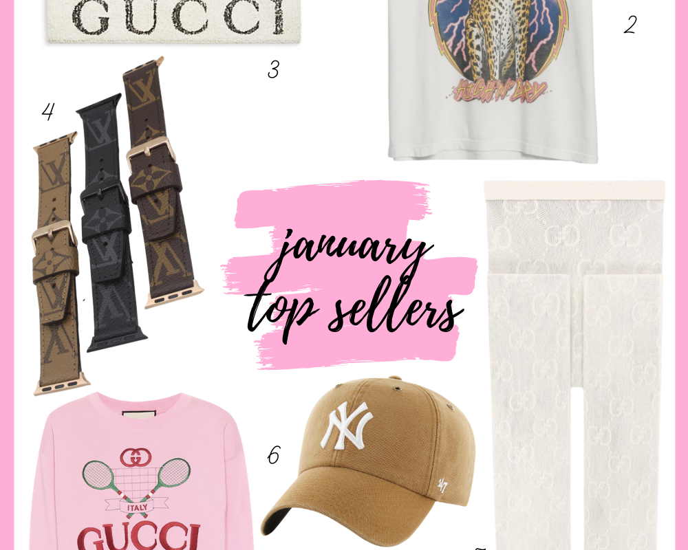 January 2021 Top Sellers