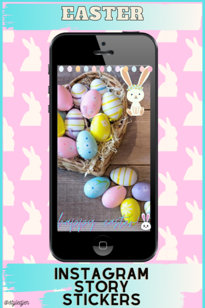 Easter Instagram Story Stickers